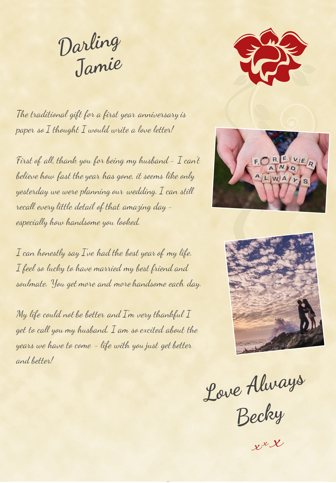 Love Letter To Someone You Just Met from www.photoloveletter.co.uk